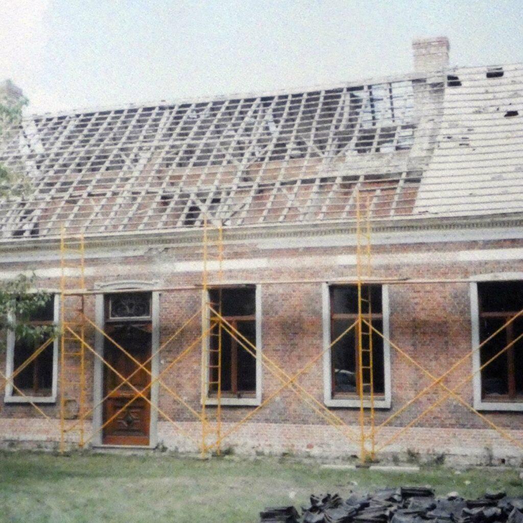 Dak oude structuur