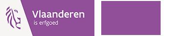 Logo Agentschap Onroerend Erfgoed - Vlaanderen is erfgoed