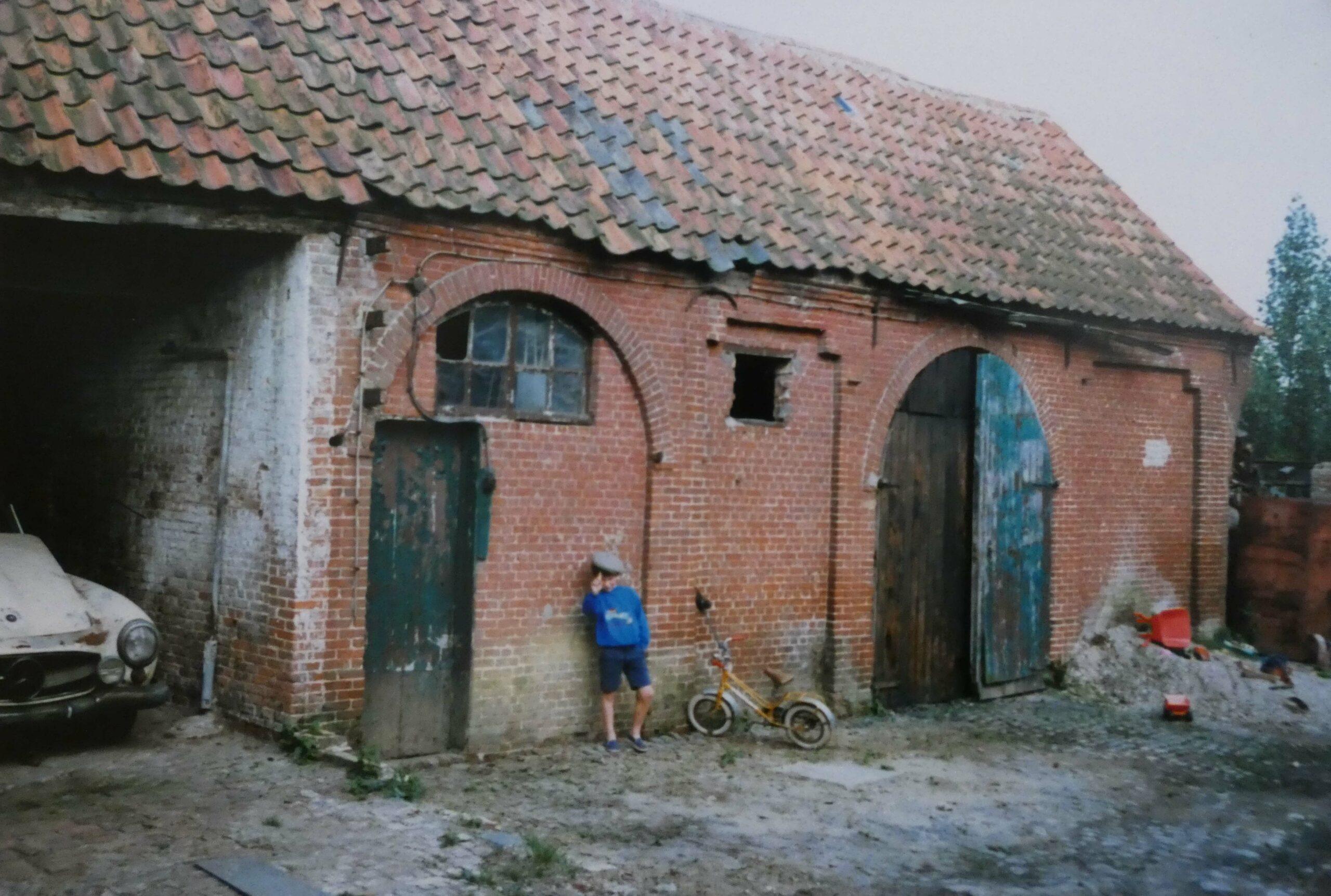 Maalderijgebouw achter de schuur