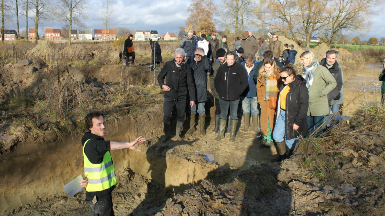 Organisatie publieksmoment voor opgraving Hof ten Dijcke – ism gemeente Lebbeke