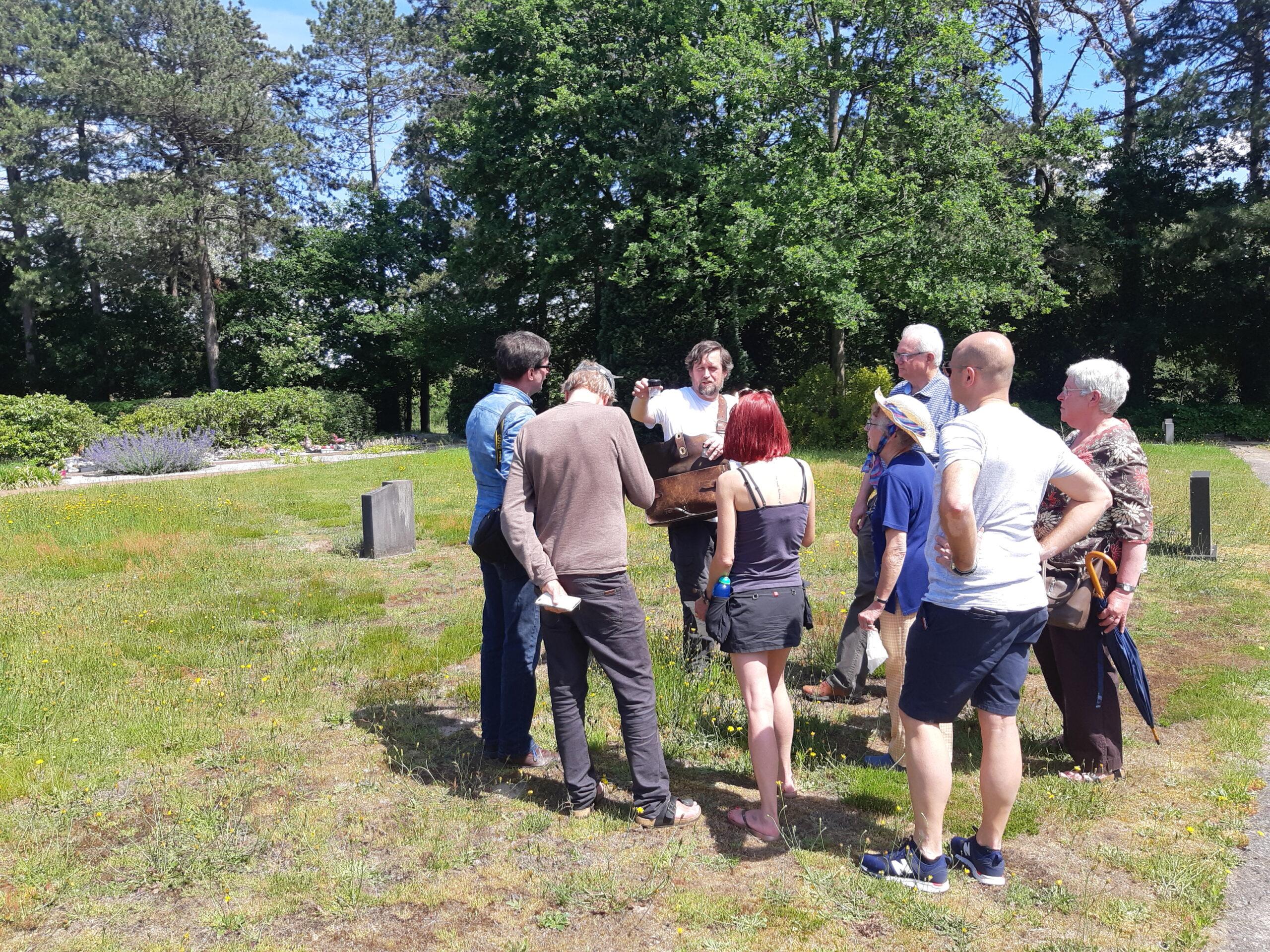 Rondleiding begraafplaats Wetteren