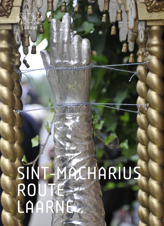 Flyer Sint-Machariusroute Laarne