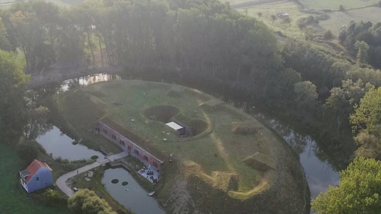 Fort Rozenbroek rustpunt in de natuur