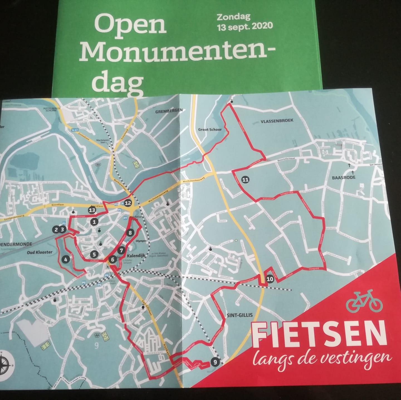 Open Monumentendag Dendermonde - Fietsen langs vestingen