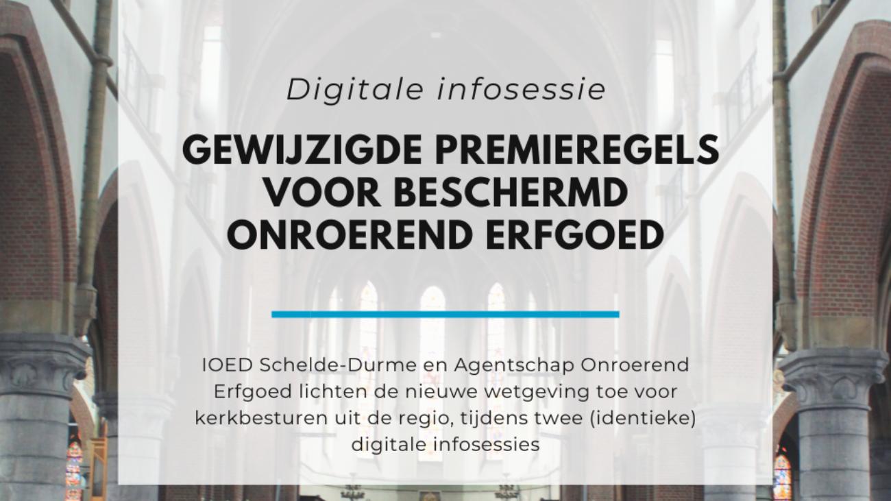 Digitale infosessie premieregels beschermd onroerend erfgoed