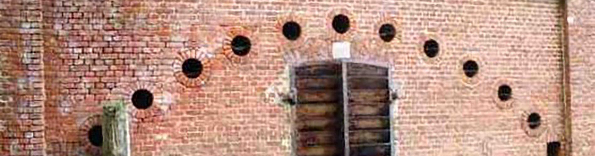 Schietgaten Fort Rozenbroek Dendermonde (c) Beeldbank Onroerend Erfgoed Duchêne Helena